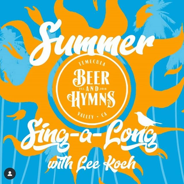 Our friends at @beerandhymnstv have invited us to kick things off with them this Saturday at @blackbird_temecula! We go on at 7pm. Full band. All ages and free!