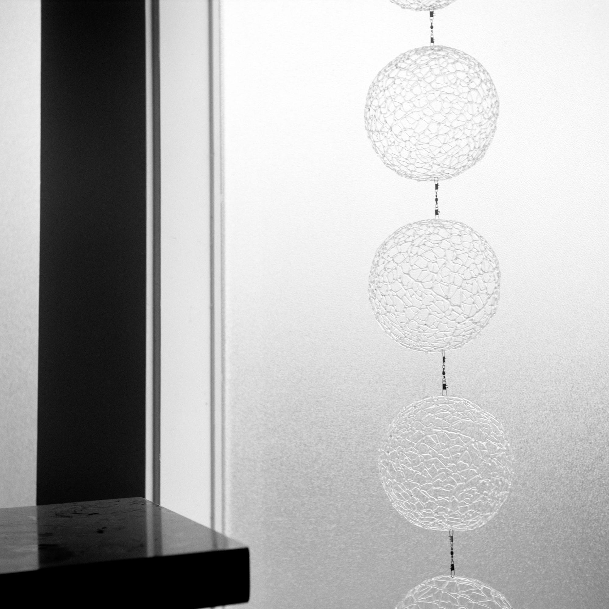 Mica's Glass Sculpture