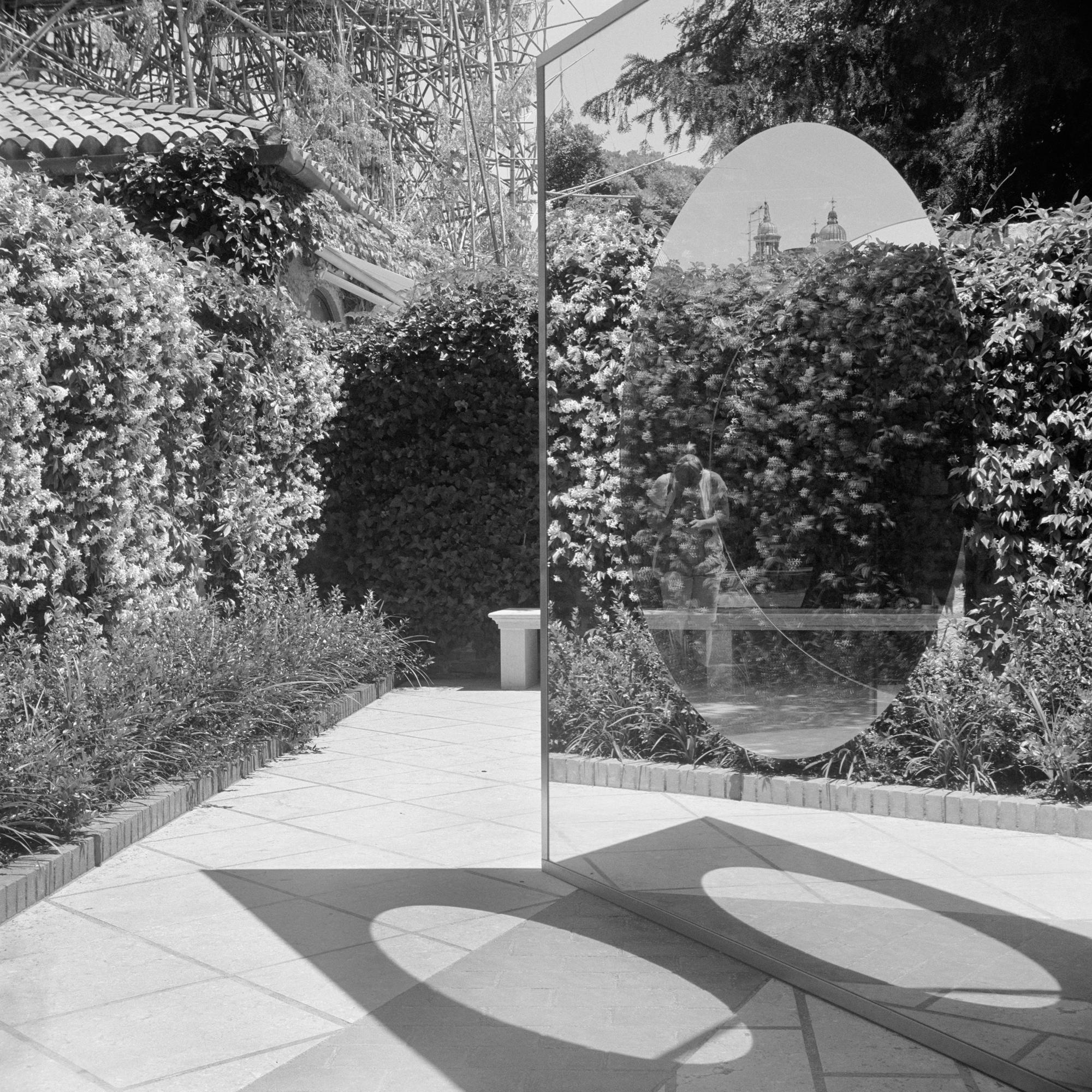 Mirror Cubed Sculpture