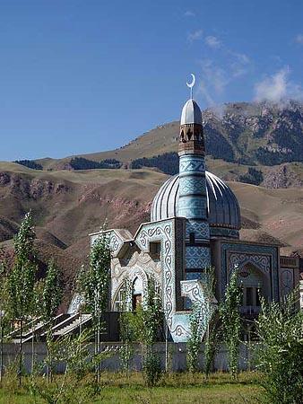 Mosquée de Naryn au Kirghizistan