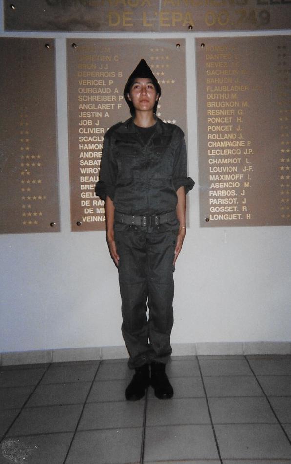 Mes premières années dans l'armée