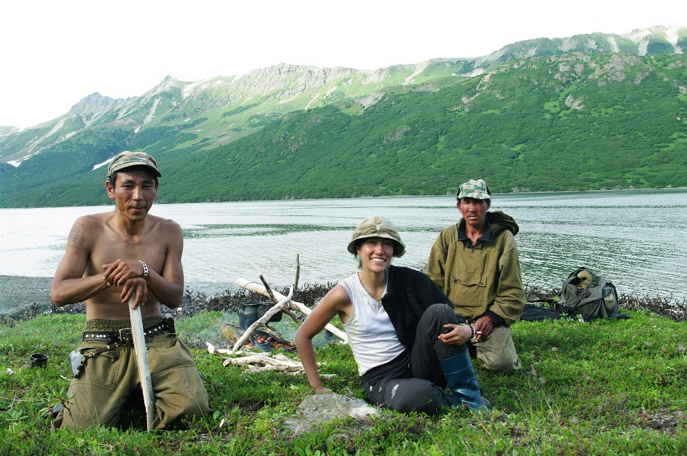 Avec les Tchoukcthes éleveurs de rennes au nord du Kamchatka (été 2011)