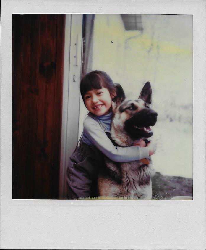 Me voilà à 5 ans ...
