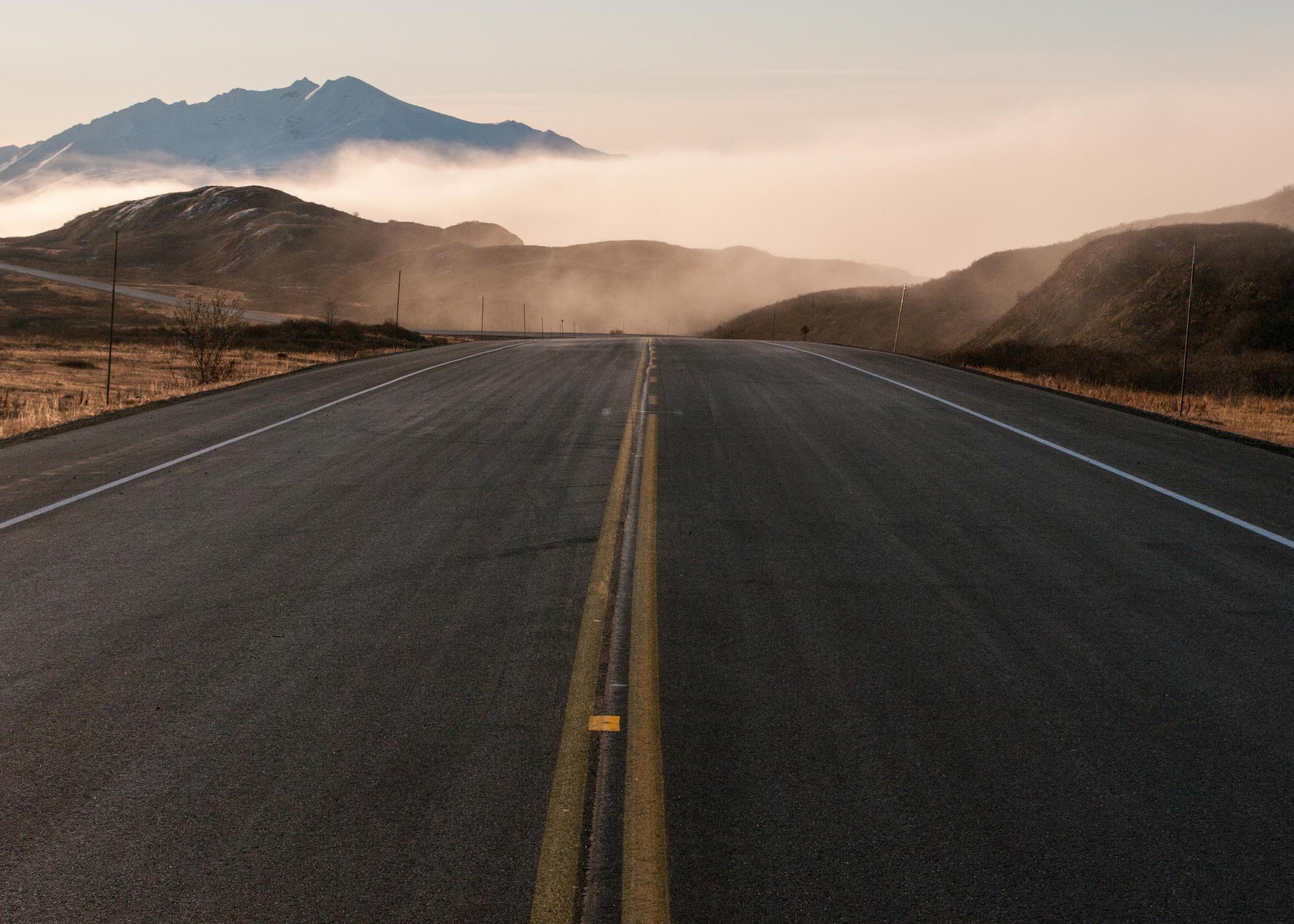 Se fixer le cap du retour vers soi, c'est affronter ses propres mystères pour découvrir qui vous êtes vraiment (Alaska - Octobre 2011)