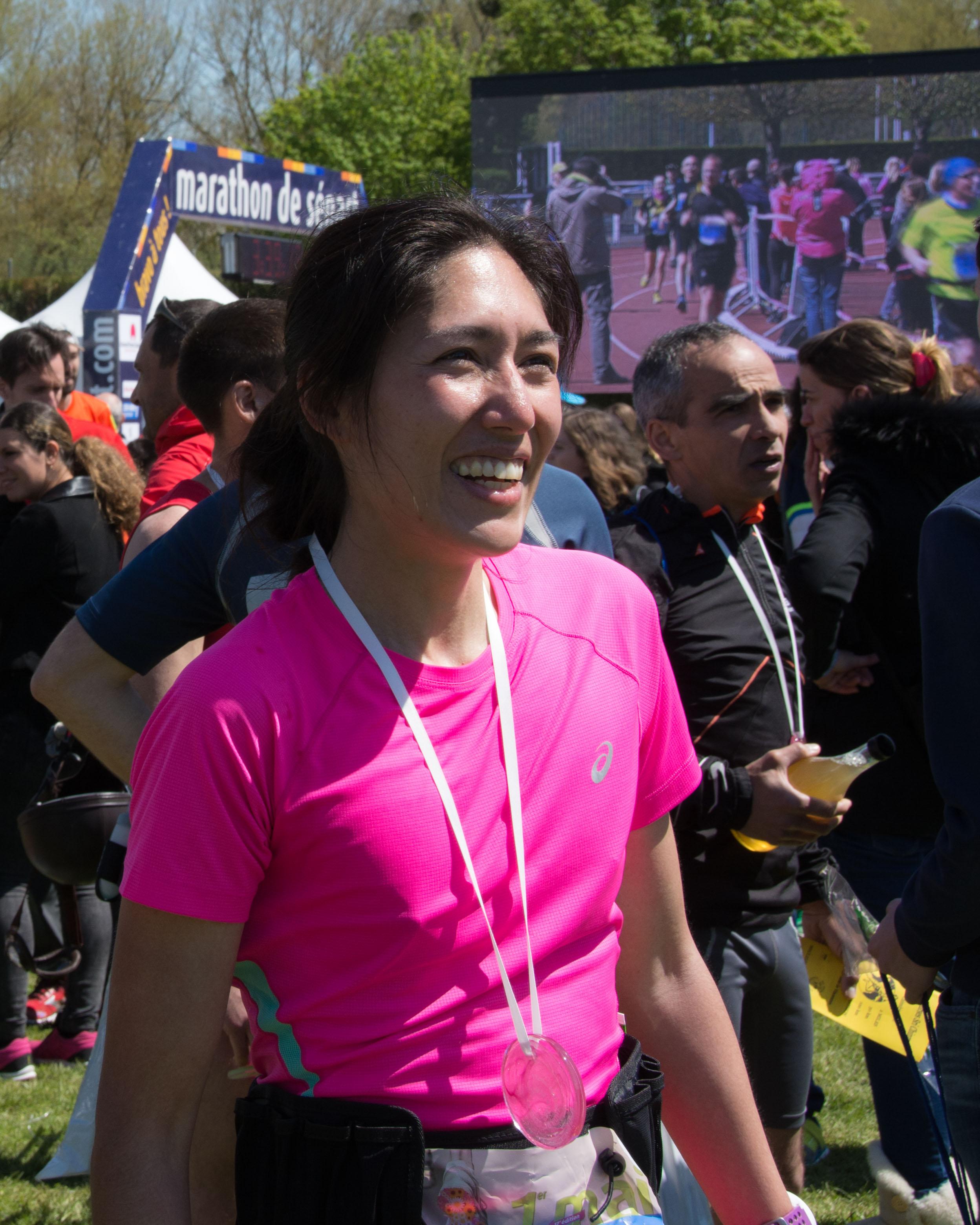 Le 1er mai 2016, je finissais mon premier marathon