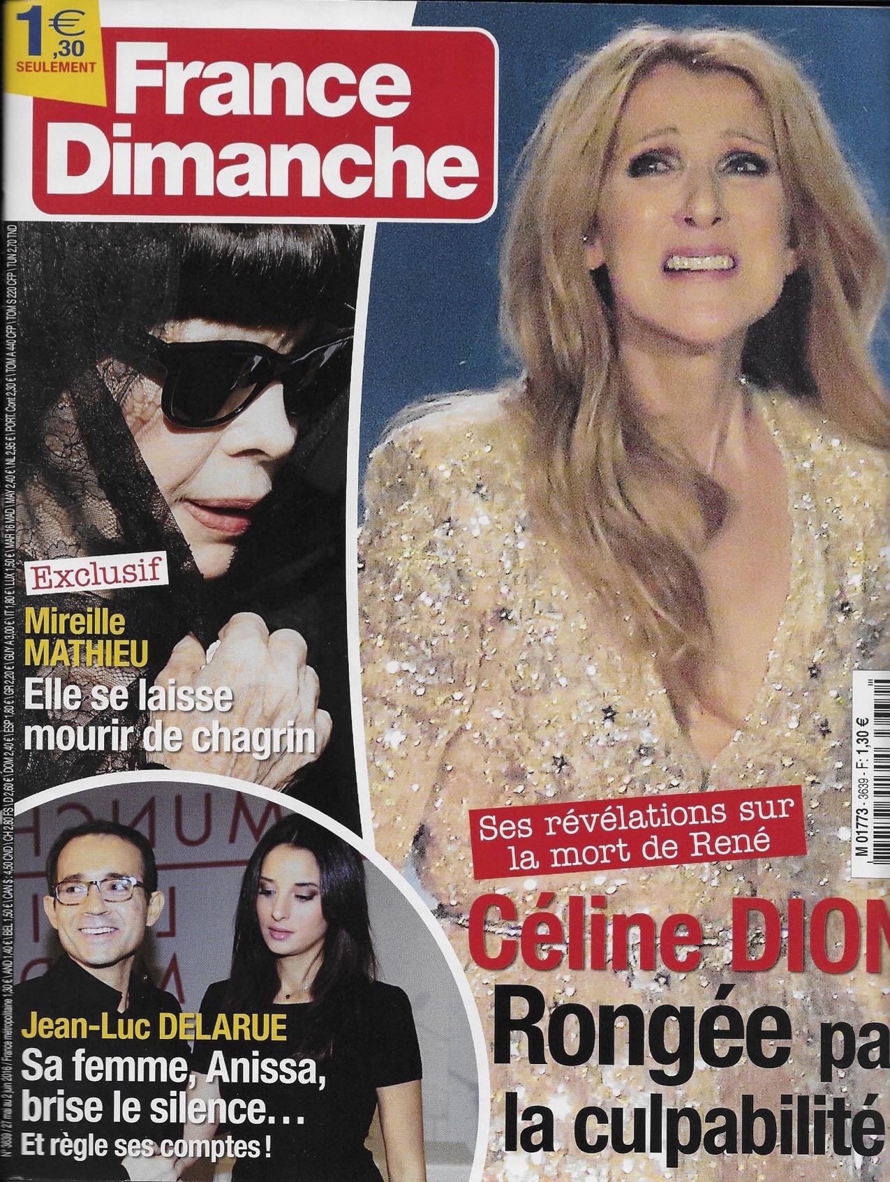 France Dimanche - Juin 2016 (   Lien   )