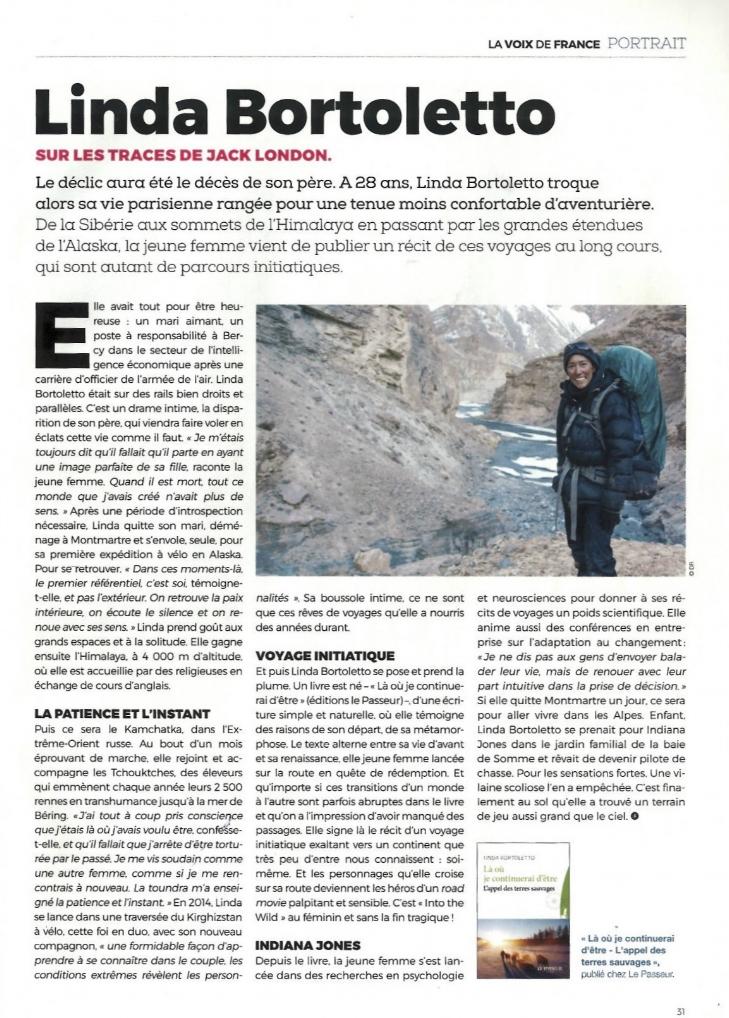 La Voix de France - Union des Français de l'Etranger - Octobre 2016