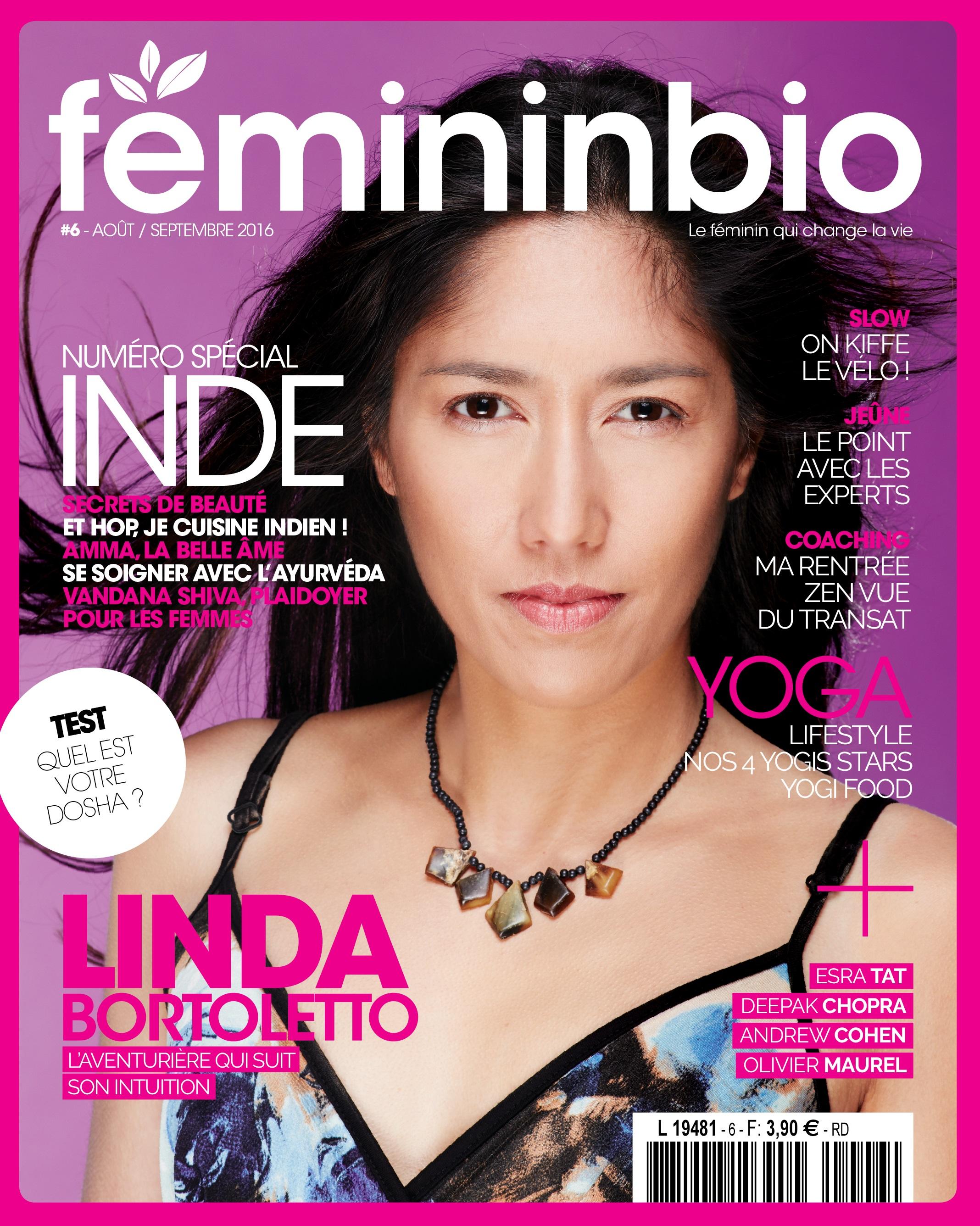 Féminin Bio - Juillet 2016 (   Lien   )