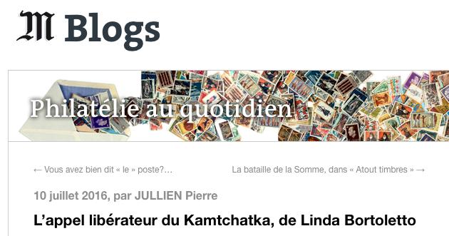Le Monde.fr - Juillet 2016 (  Lien )