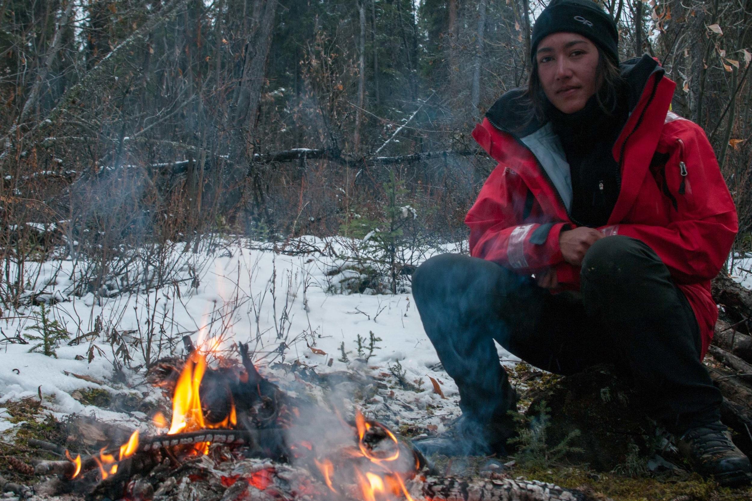ALASKA - Je parcours 1200 kilomètres à vélo à l'aube de l'hiver.