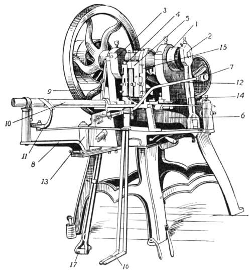 Blanchard Tack Machine as produced by the Henry Perkins Company