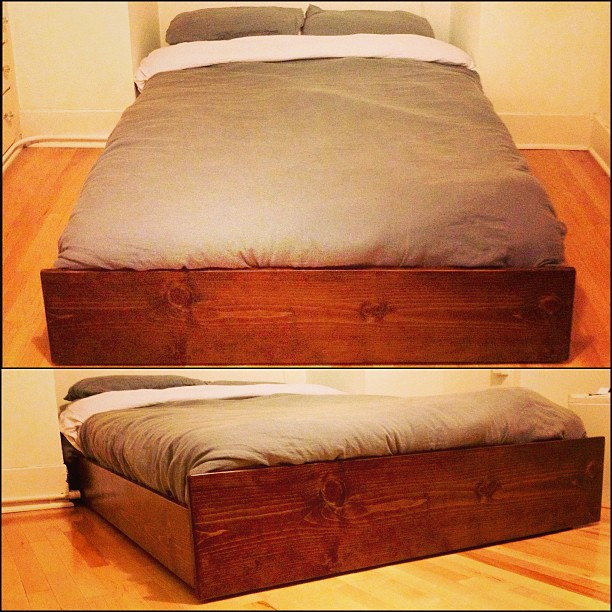 FULL SIZE BED BOX
