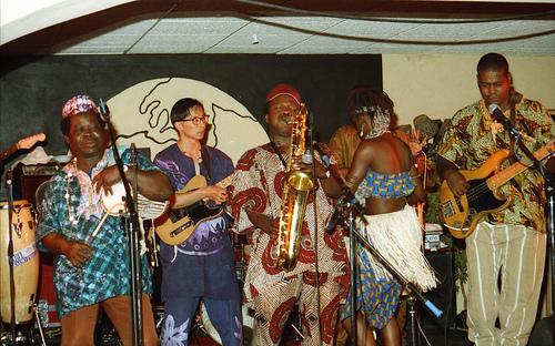 O.J. Ekemode and the Nigerian Allstars -- 5/24/92