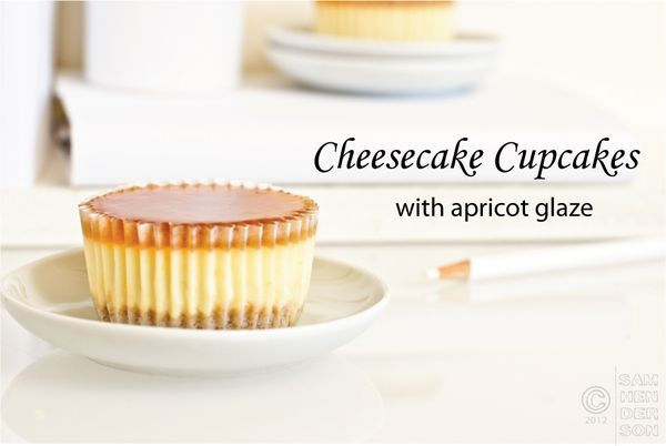 cheescake cupcakes with apricot glaze by todaysnest 1.jpg