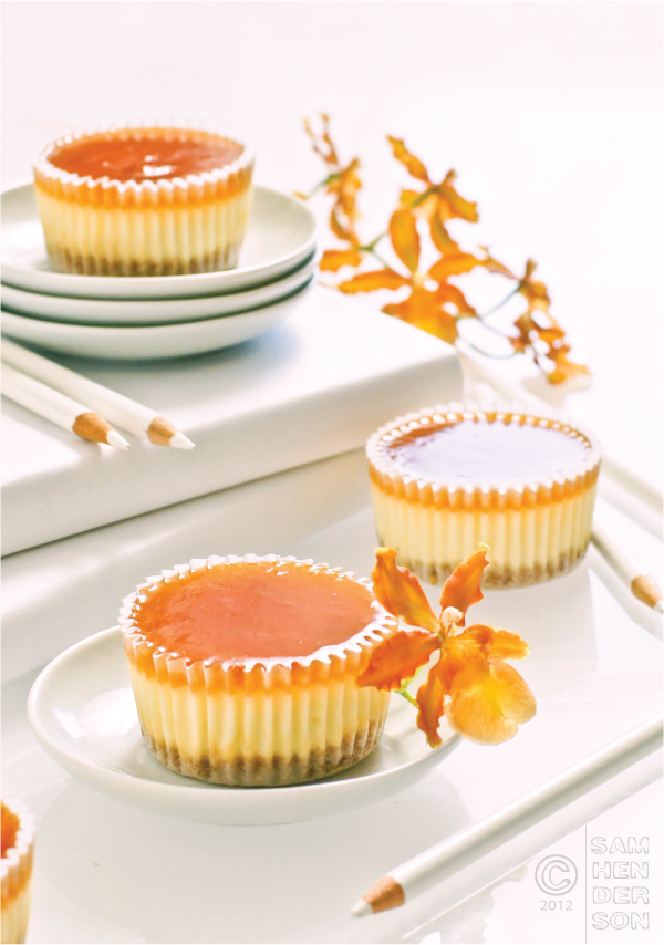 cheescake cupcakes with apricot glaze todaynest 3.jpg