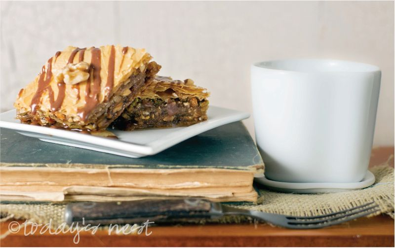 baklava with nutella glaze todaysnest 2.jpg