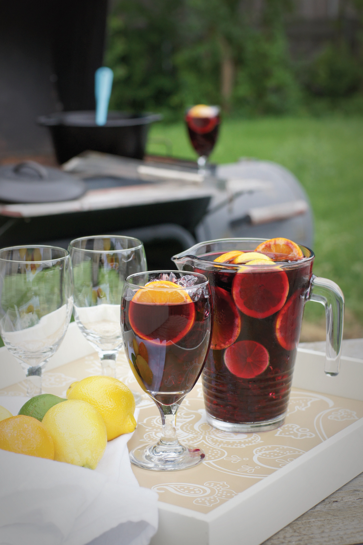 The History of Sangria at The Boys Club by Sam Henderson of Today's Nest