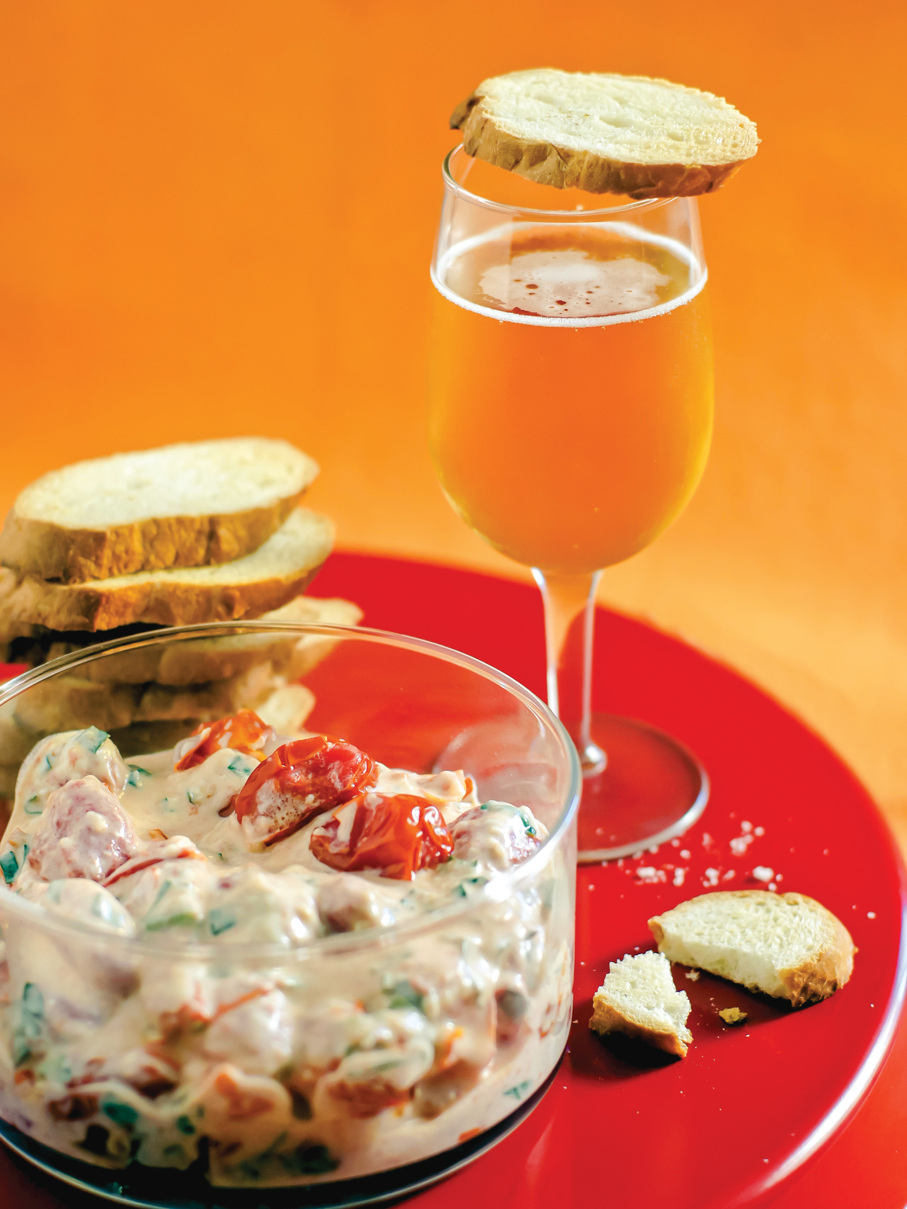 Roasted Tomato Parmesan Dip from Sam Henderson of Today's Nest