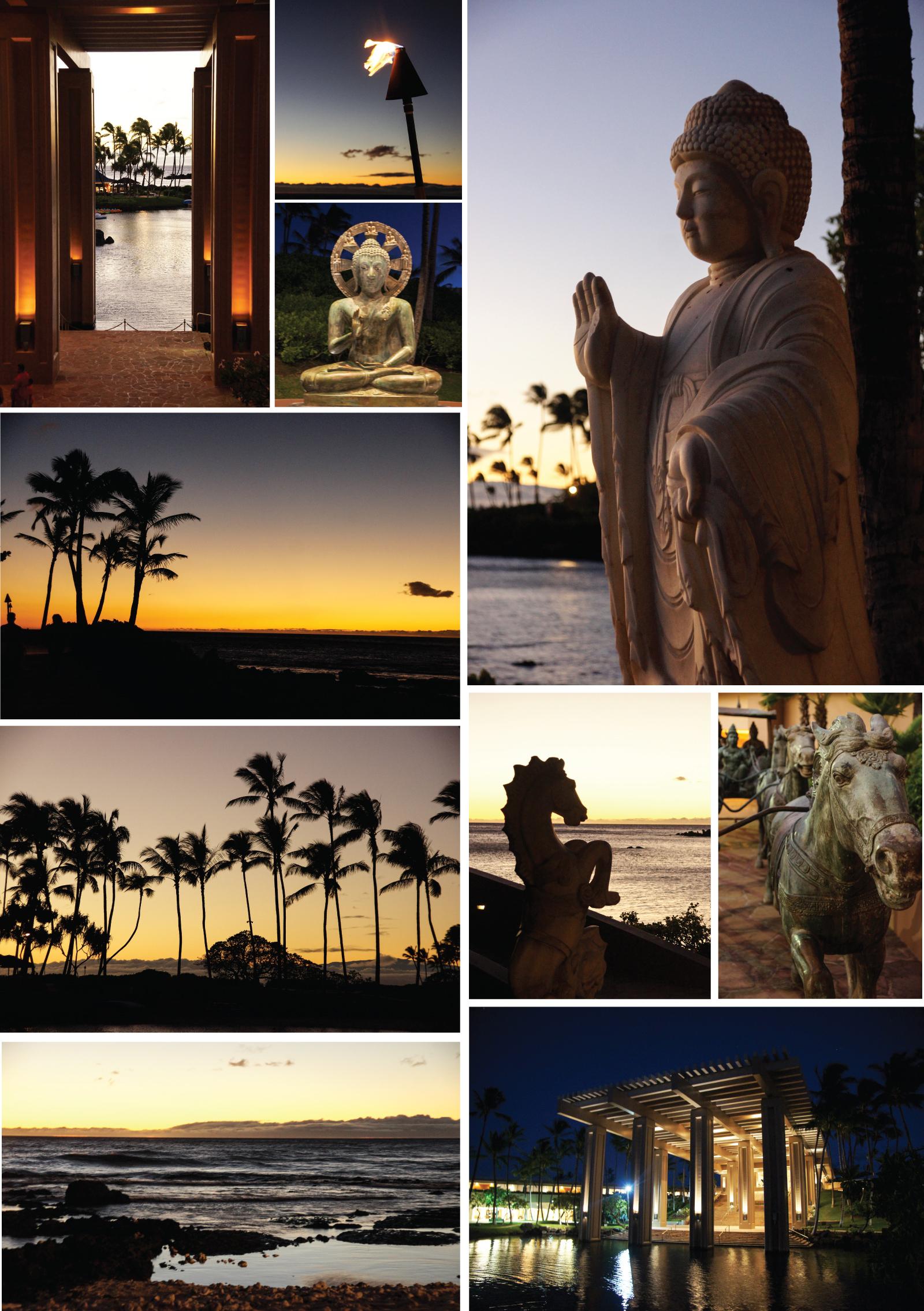 Night falls on paradise... Waikoloa, Hawaii.