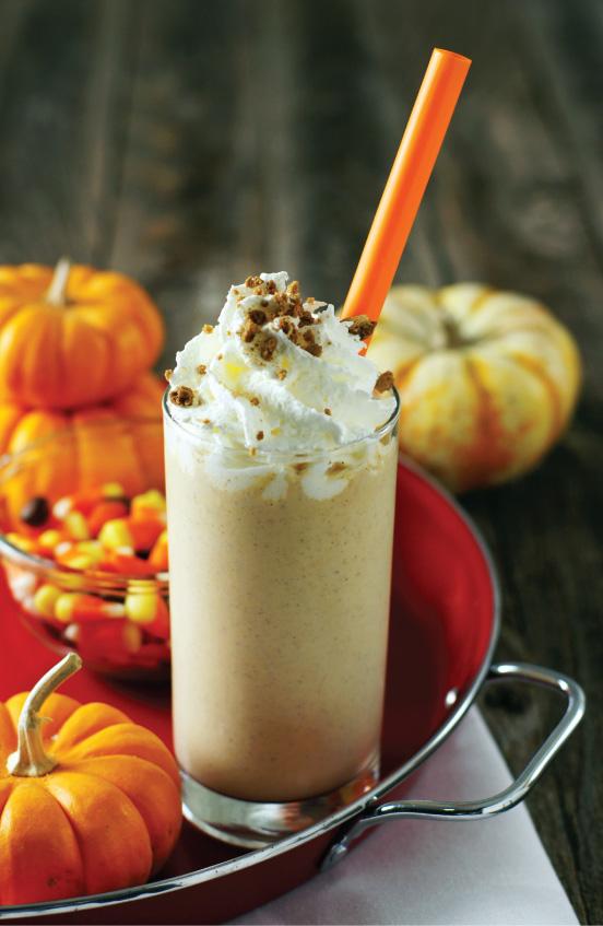 Pumpkin Spice Malted Milk Shake  from Sam Henderson of Today's Nest.