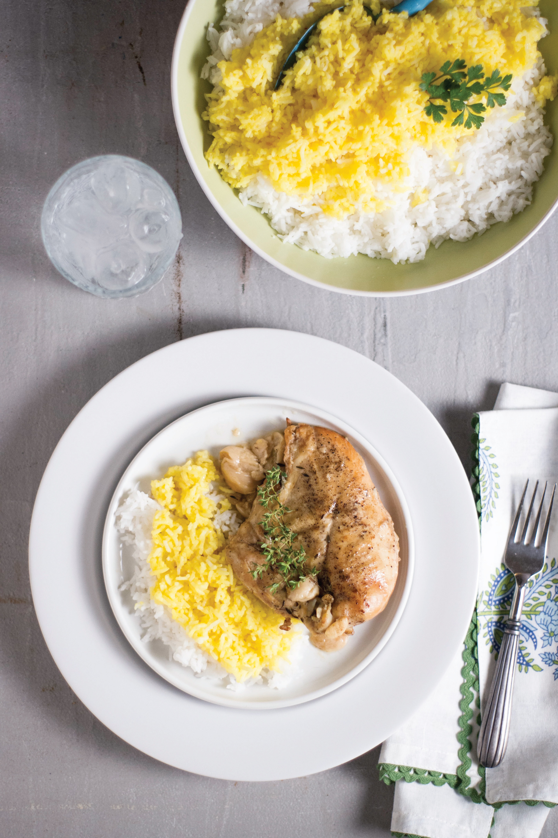 Slow-Cooked 40 Clove Garlic Chicken from Sam Henderson of Today's Nest
