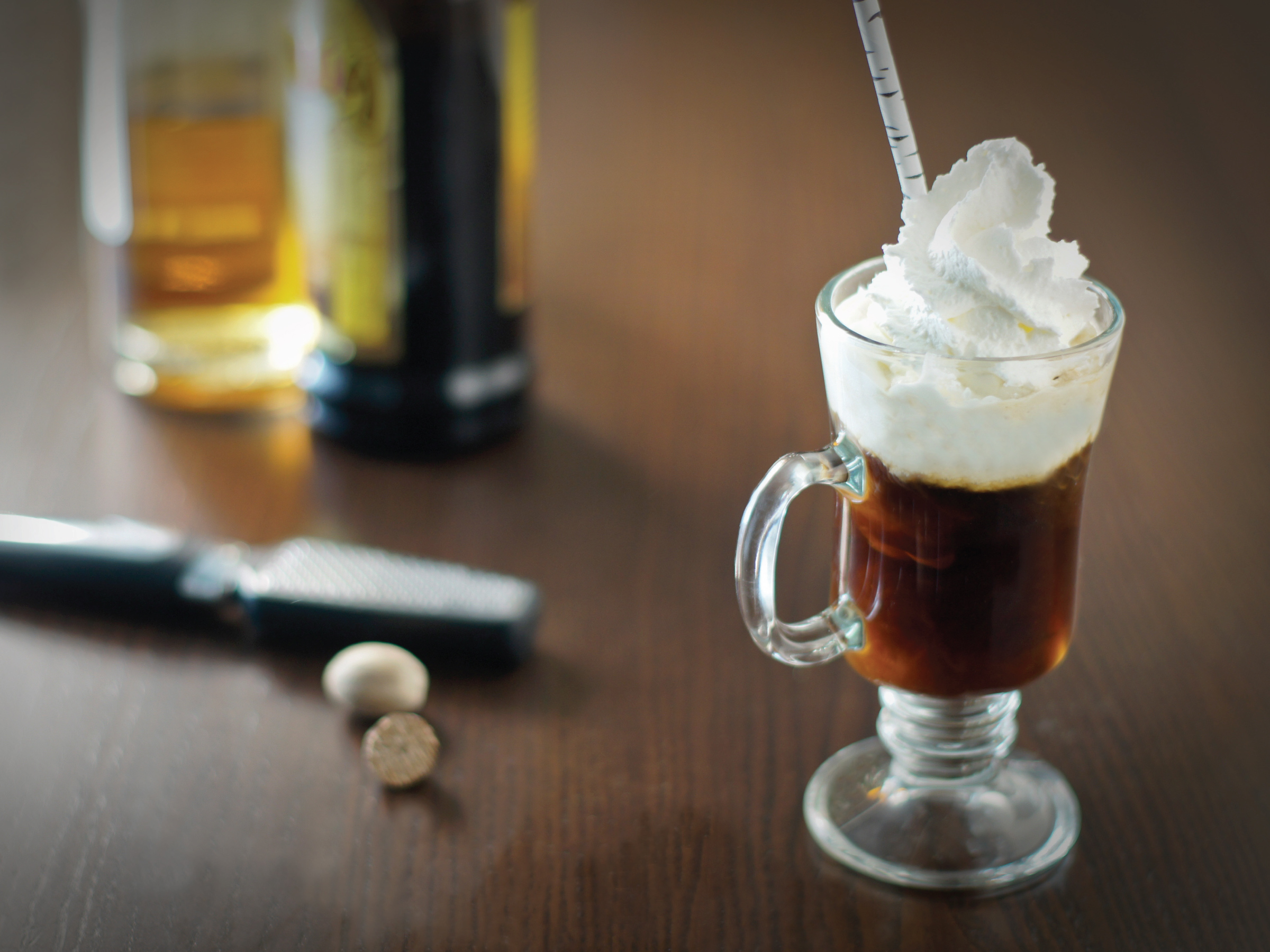 Spiced Cappucini Cocktail by Sam Henderson of Today's Nest for HGTV
