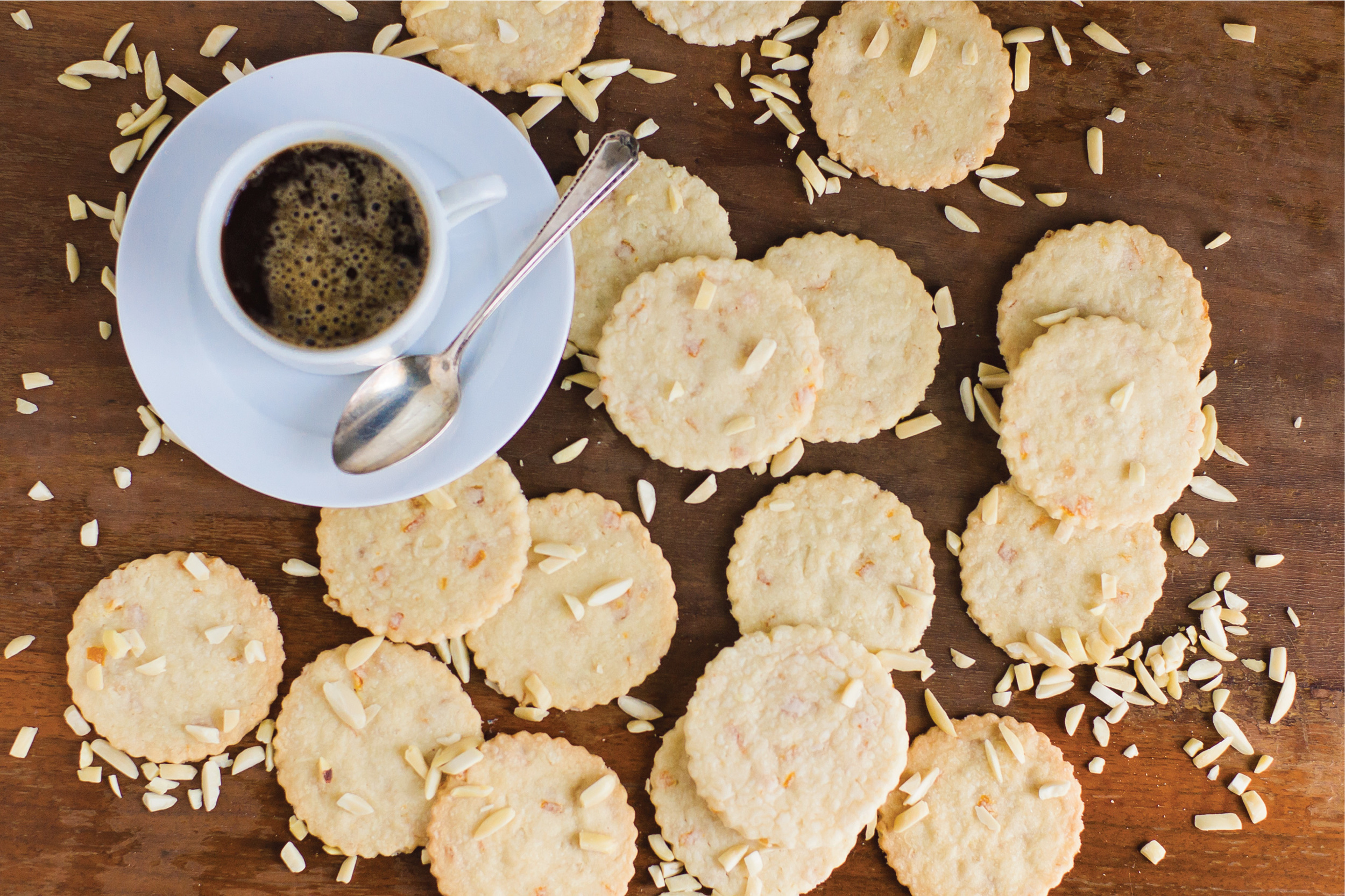 Orange Almond Cookies from Sam Henderson of Today's Nest