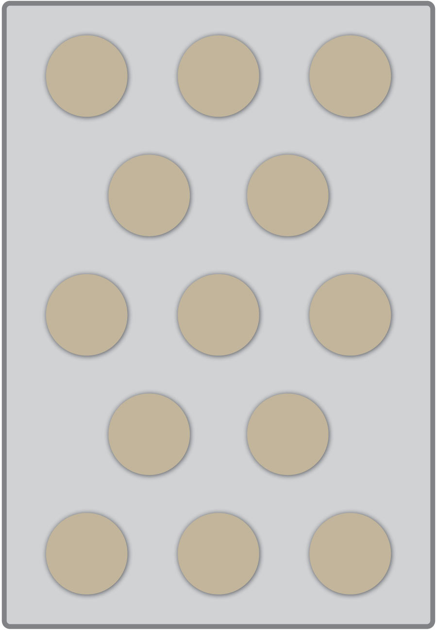 baker's dozen layout