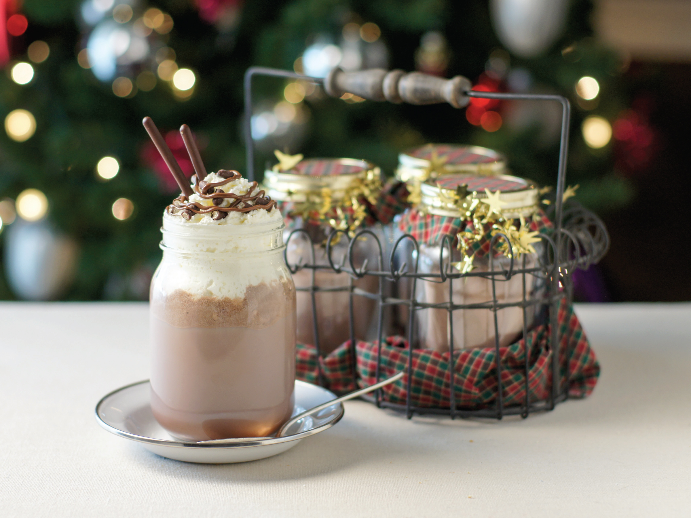 Hazelnut Hot Cocoa by Sam Henderson of Today's Nest for HGTV