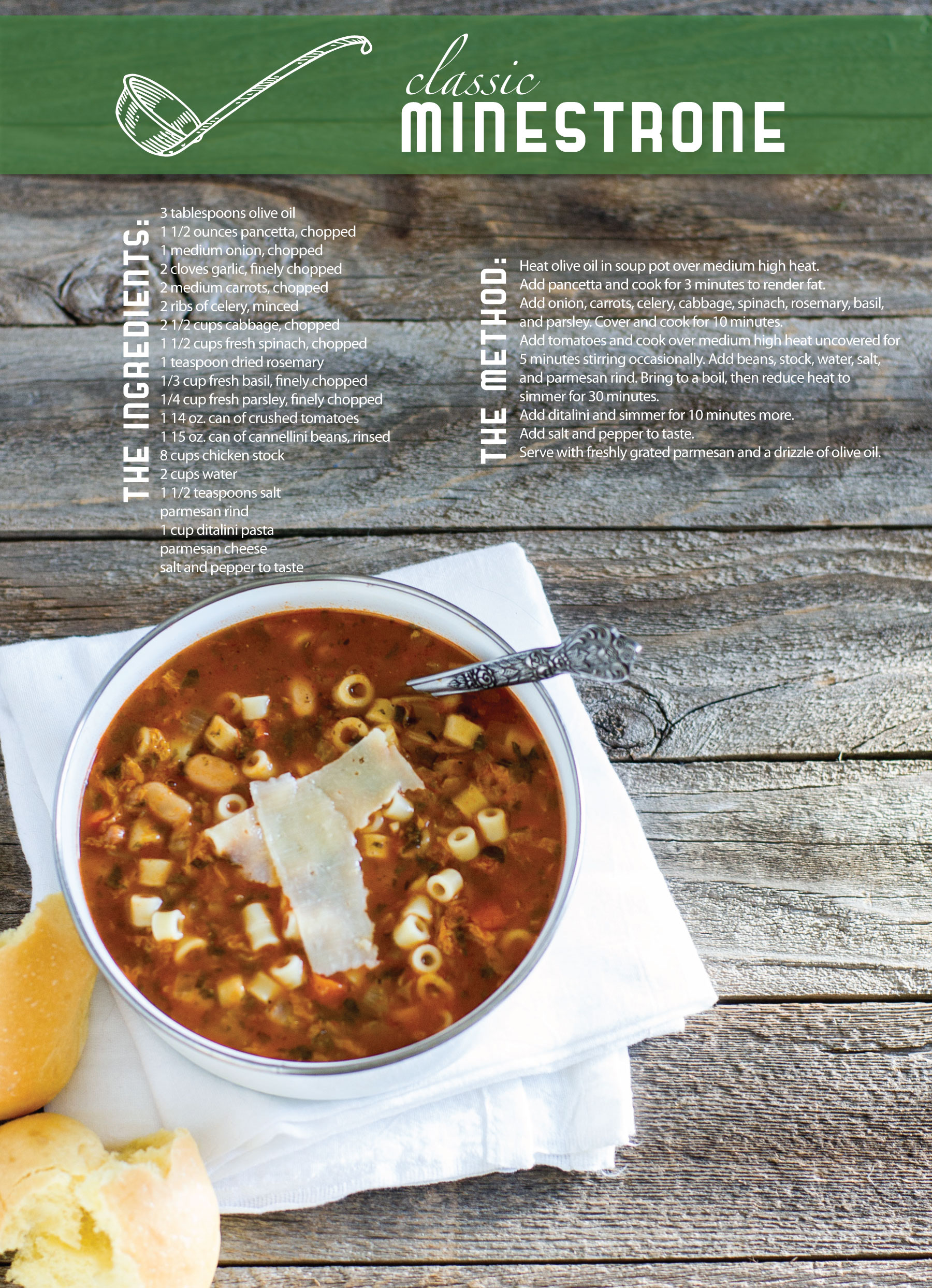Classic MInestrone by Sam Henderson of Today's Nest