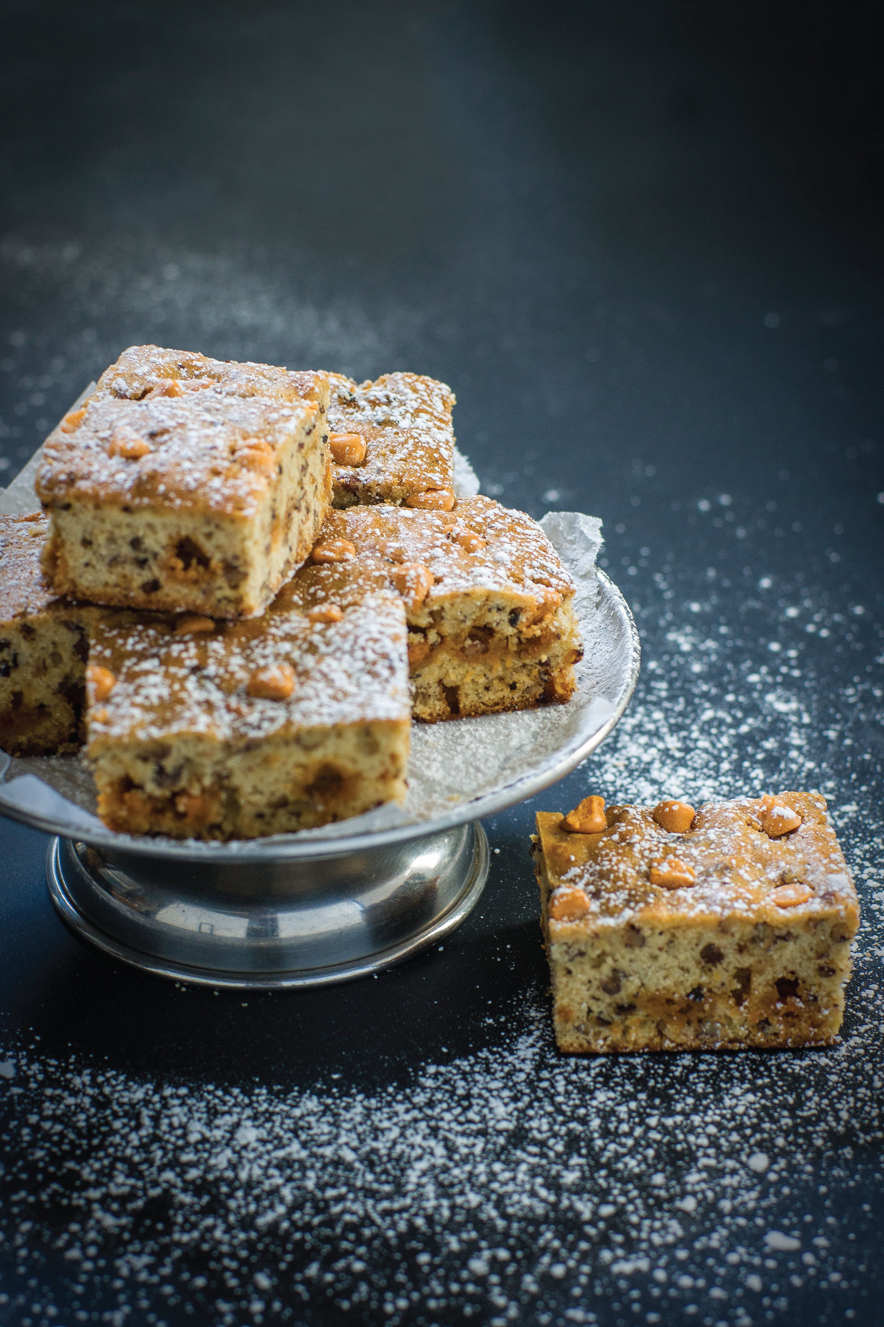 Banana Butterscotch Blondies by Sam Henderson of Today's Nest