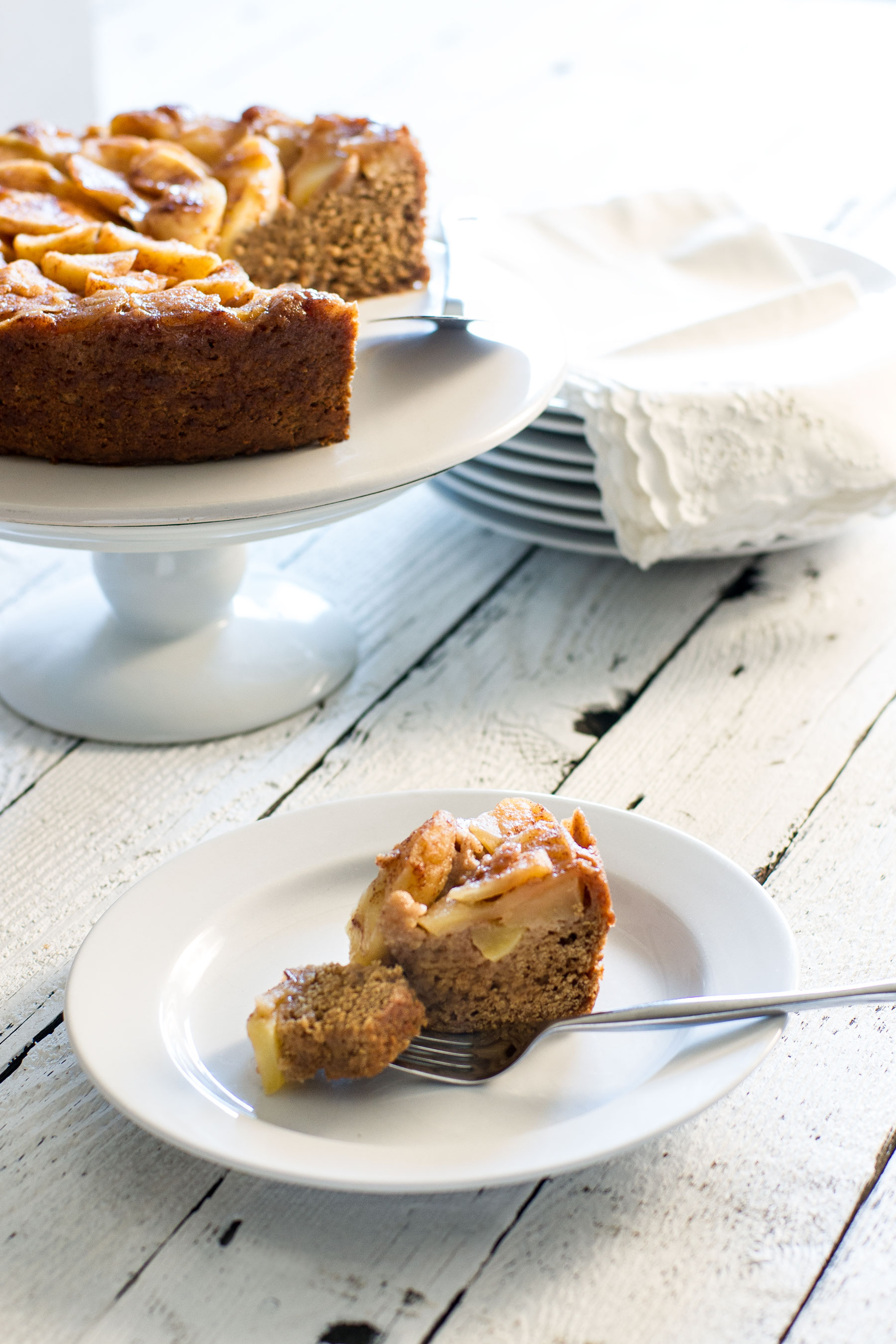 Apple Butter Upside Down Cake by Sam Henderson of Today's Nest