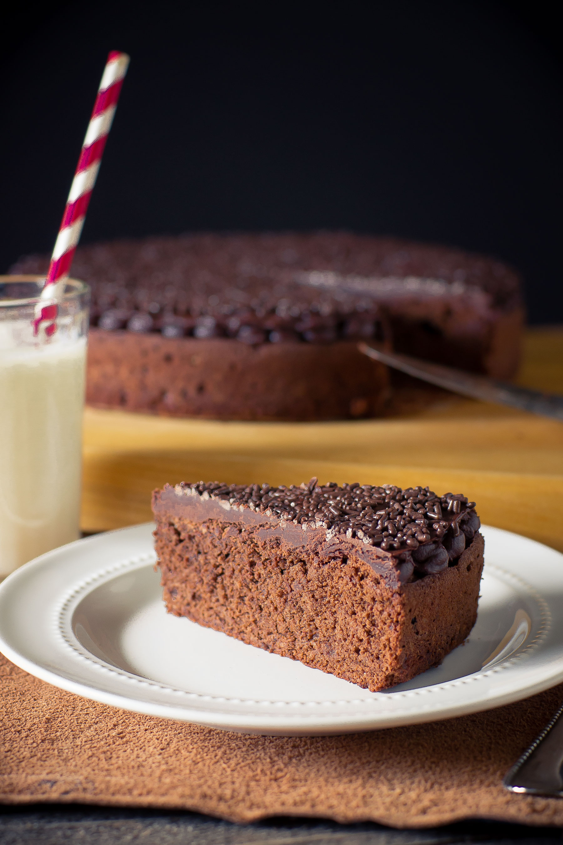 Chocolate Cake by Sam Henderson of Today's Nest