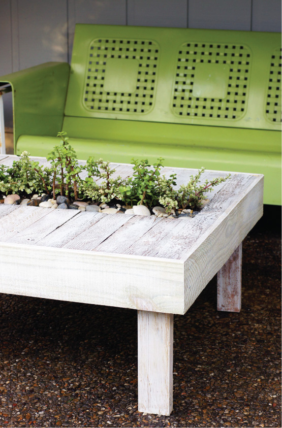 Pallet-able Patio Cocktail Table