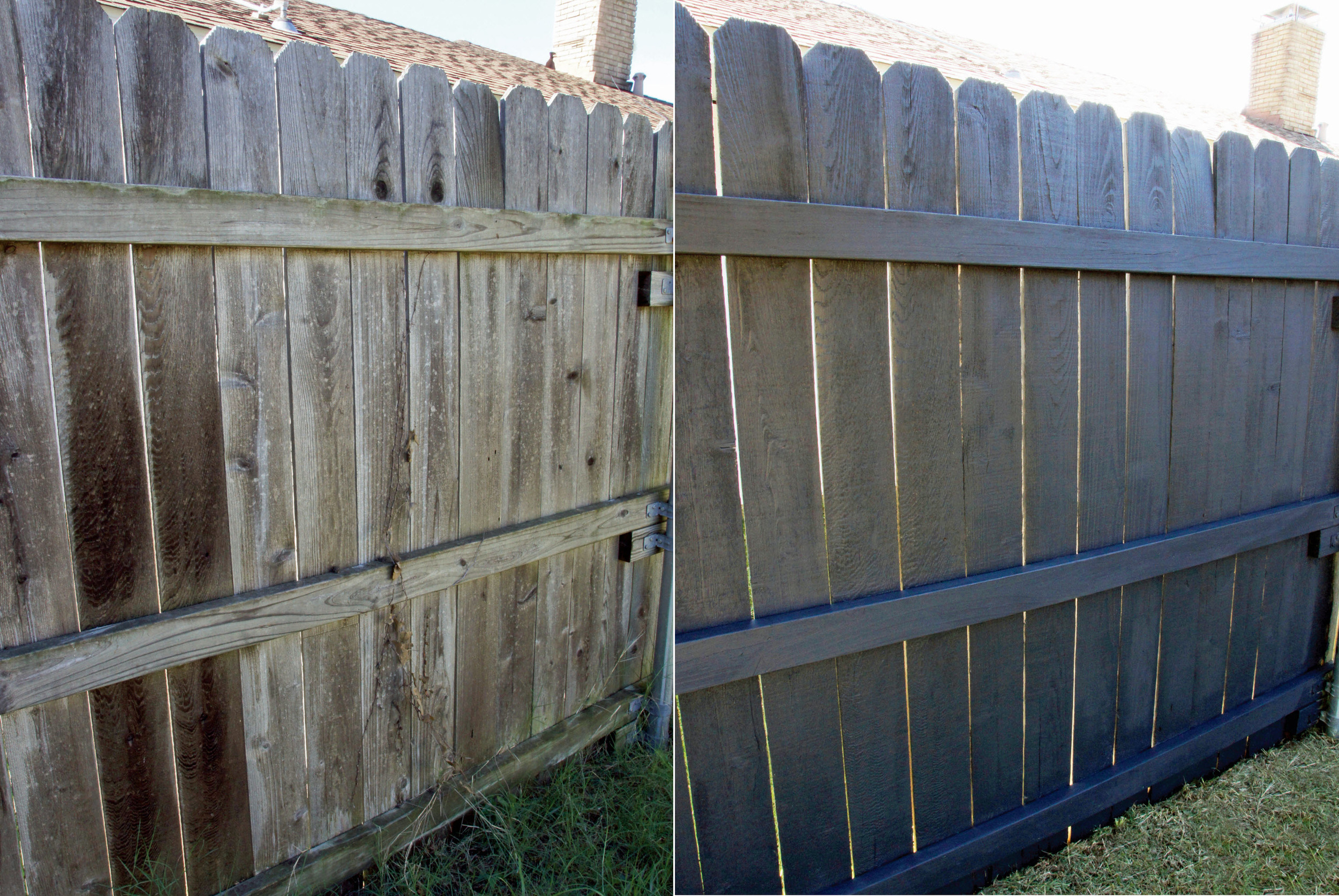 Fence Revival by Sam Henderson of Today's Nest for HGTVGardens