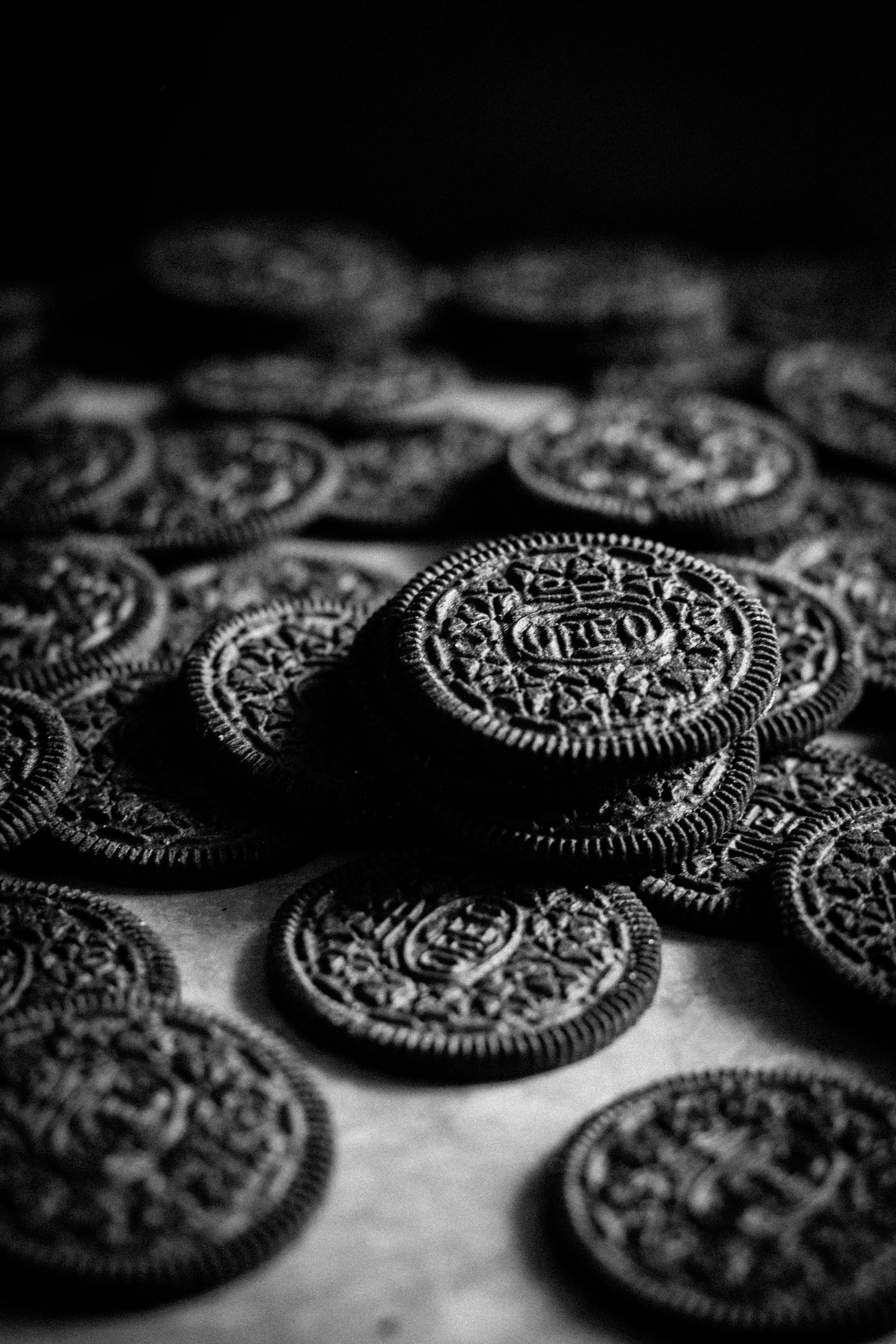 Oreos halves by Sam Henderson of Today's Nest