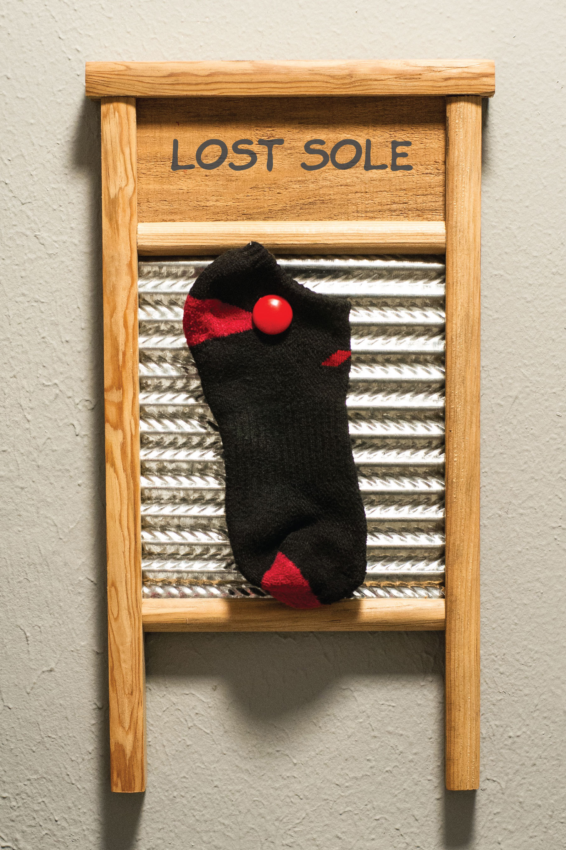 Laundry Room sock board by Sam Henderson of Today's Nest