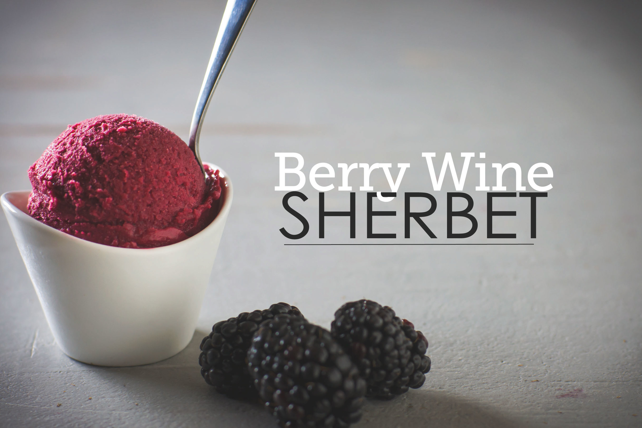 Berry Wine Sherbet by Sam Henderson of Today's Nest