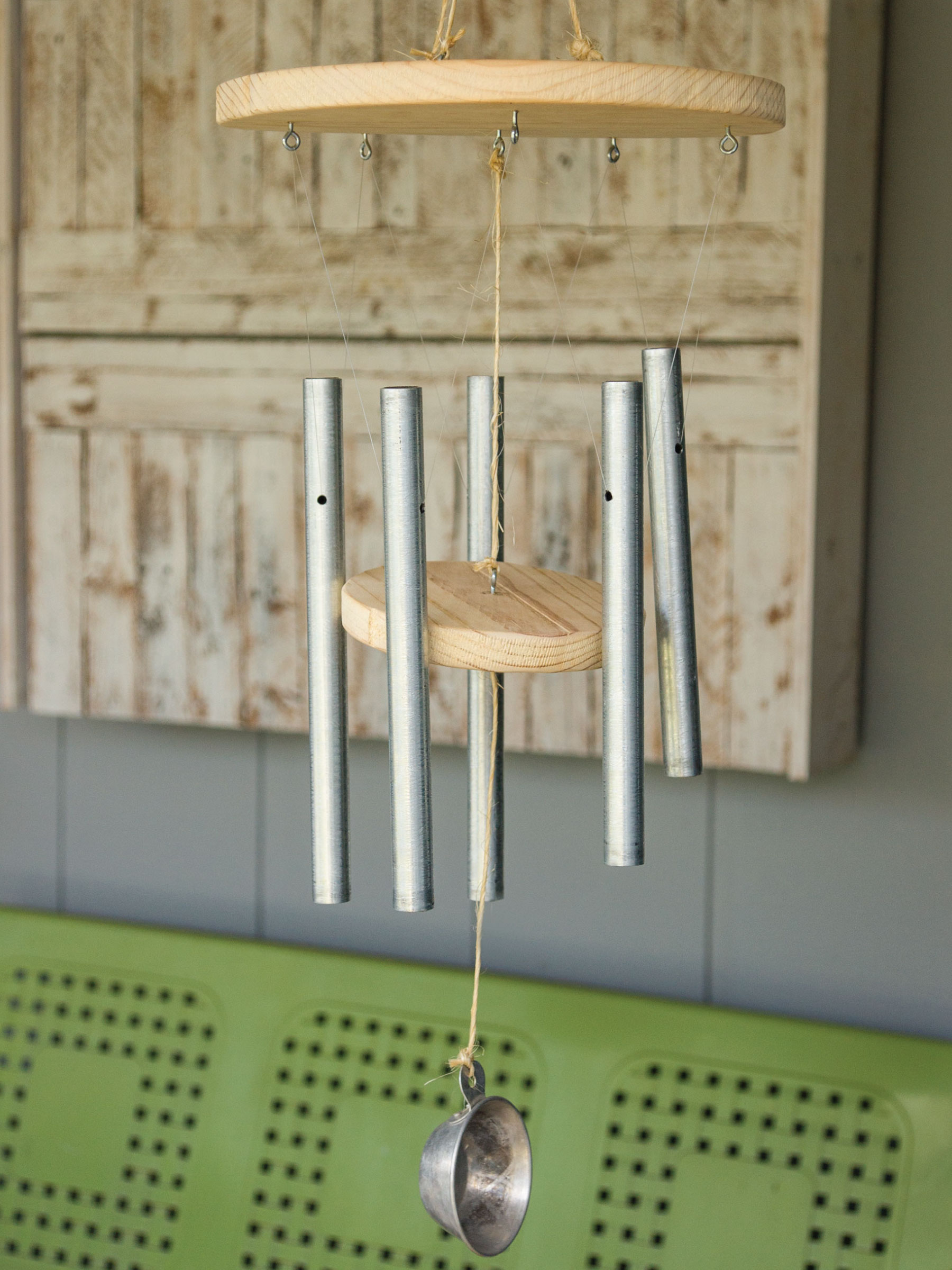 DIY Wind Chimes by Sam Henderson of Today's Nest for HGTVGardens