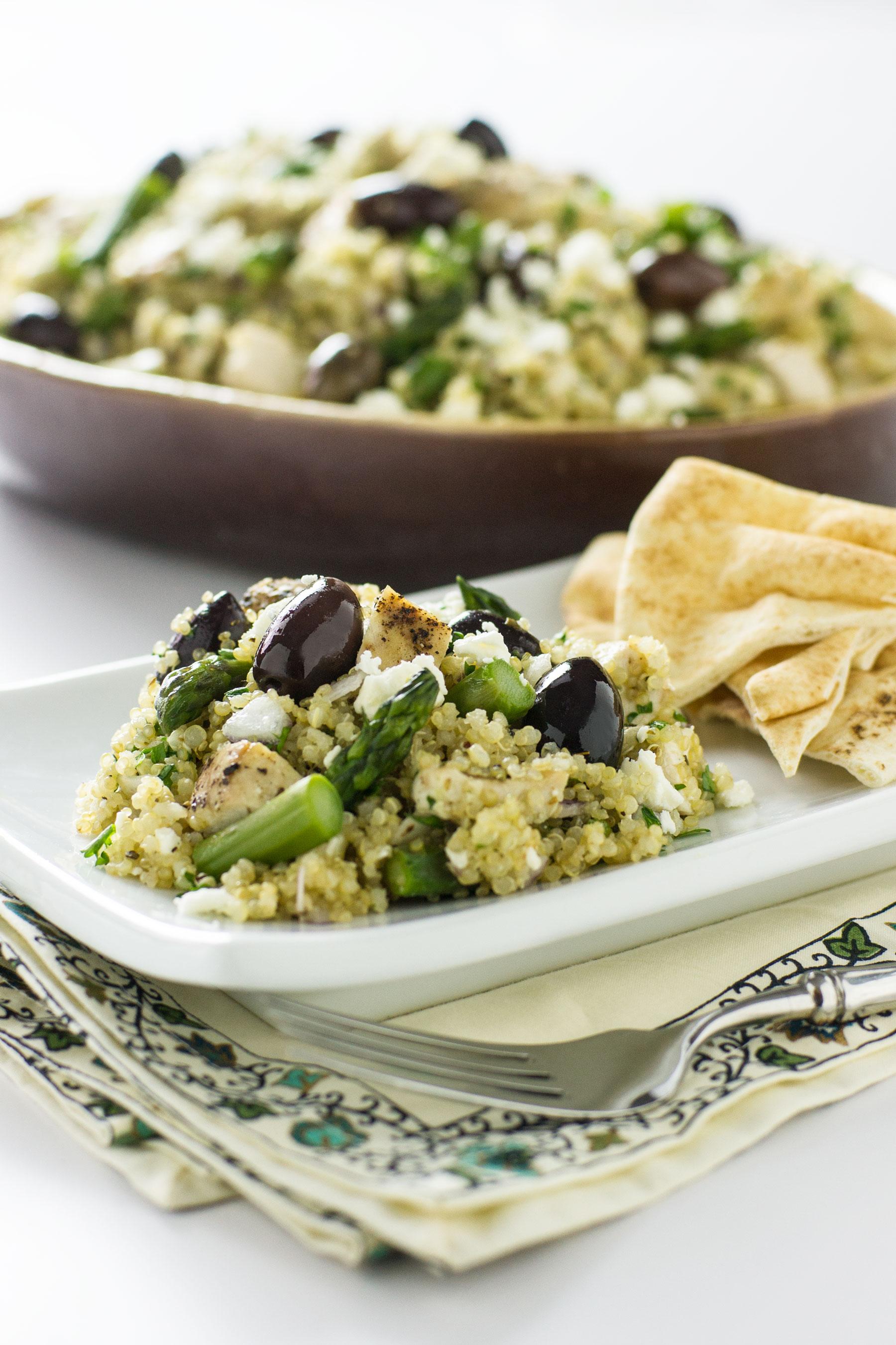 Mediterranean Chicken and Quinoa Salad by Sam Henderson of Today's Nest