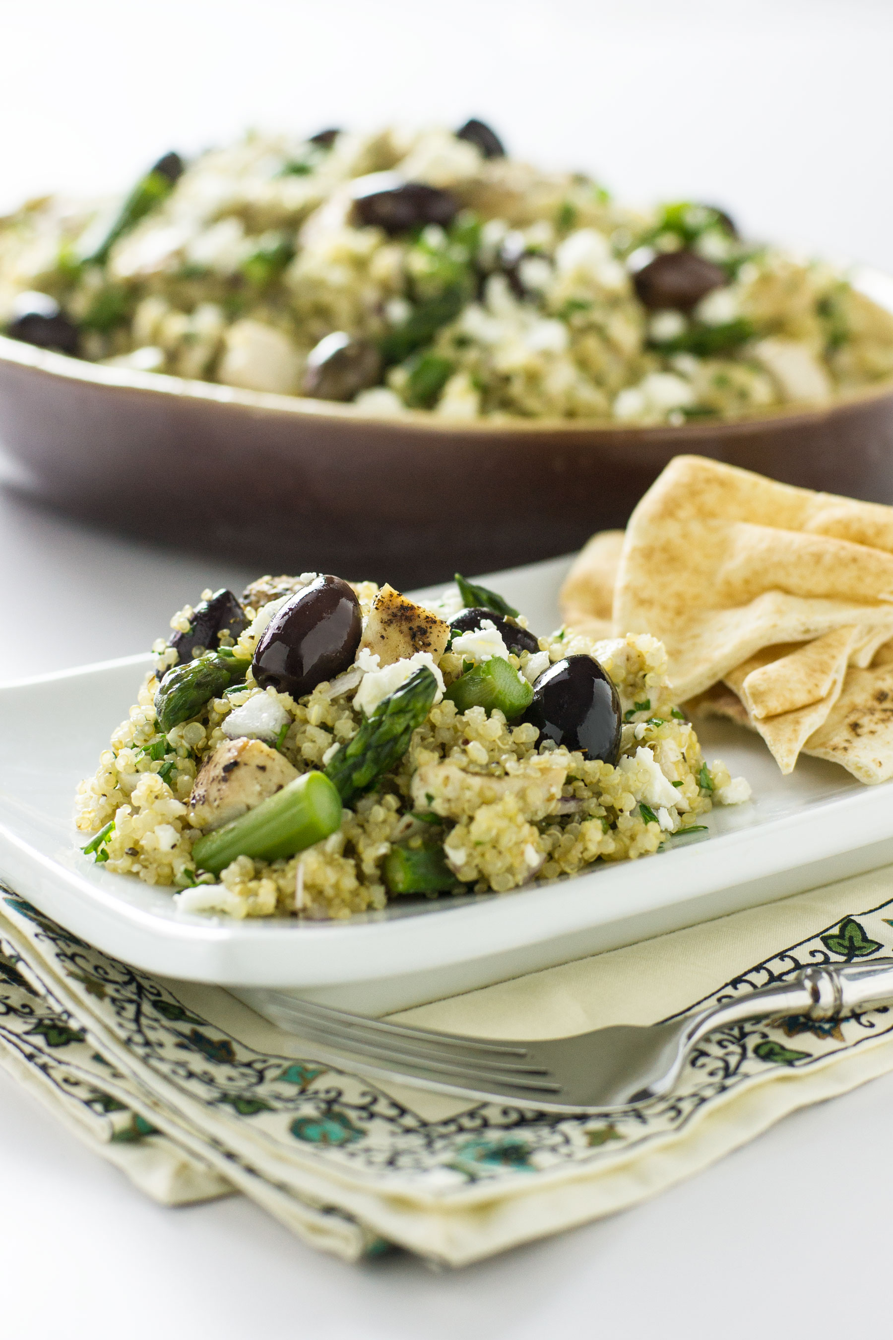 Mediterranean Chicken and Quinoa Salad by Sam Henderson of Today's Nest