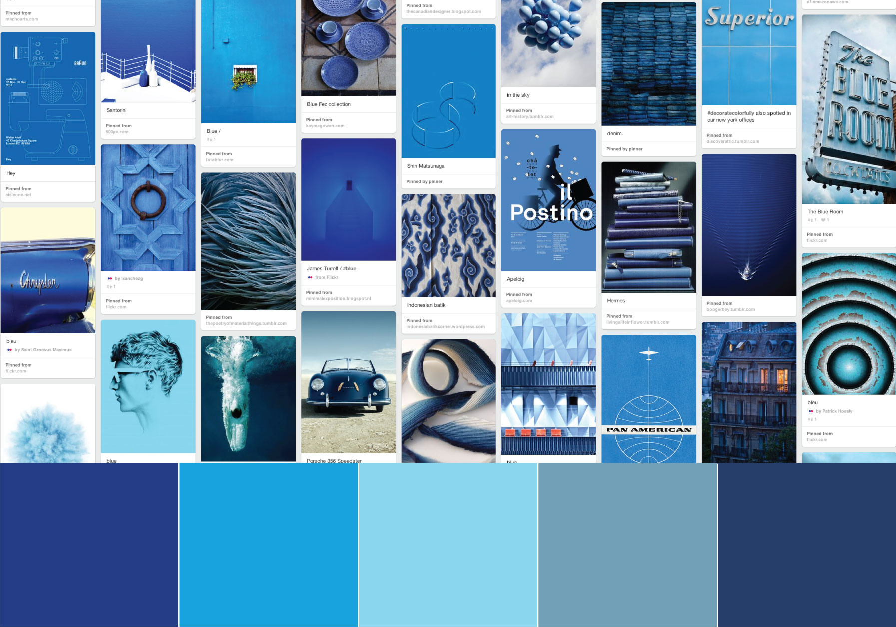 Color Story: BLUE — Today's Nest