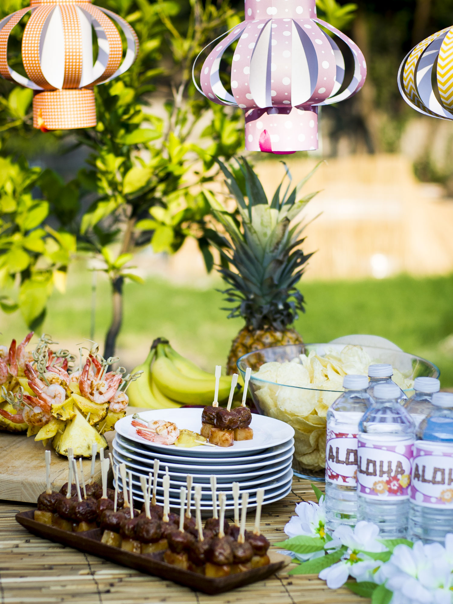 Throwing a Luau Party by Sam Henderson of Today's Nest for HGTVGardens