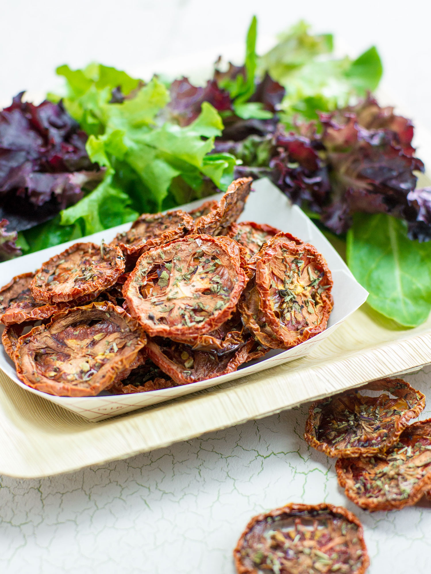 Tomato Chips by Sam Henderson of Today's Nest for HGTVGardens