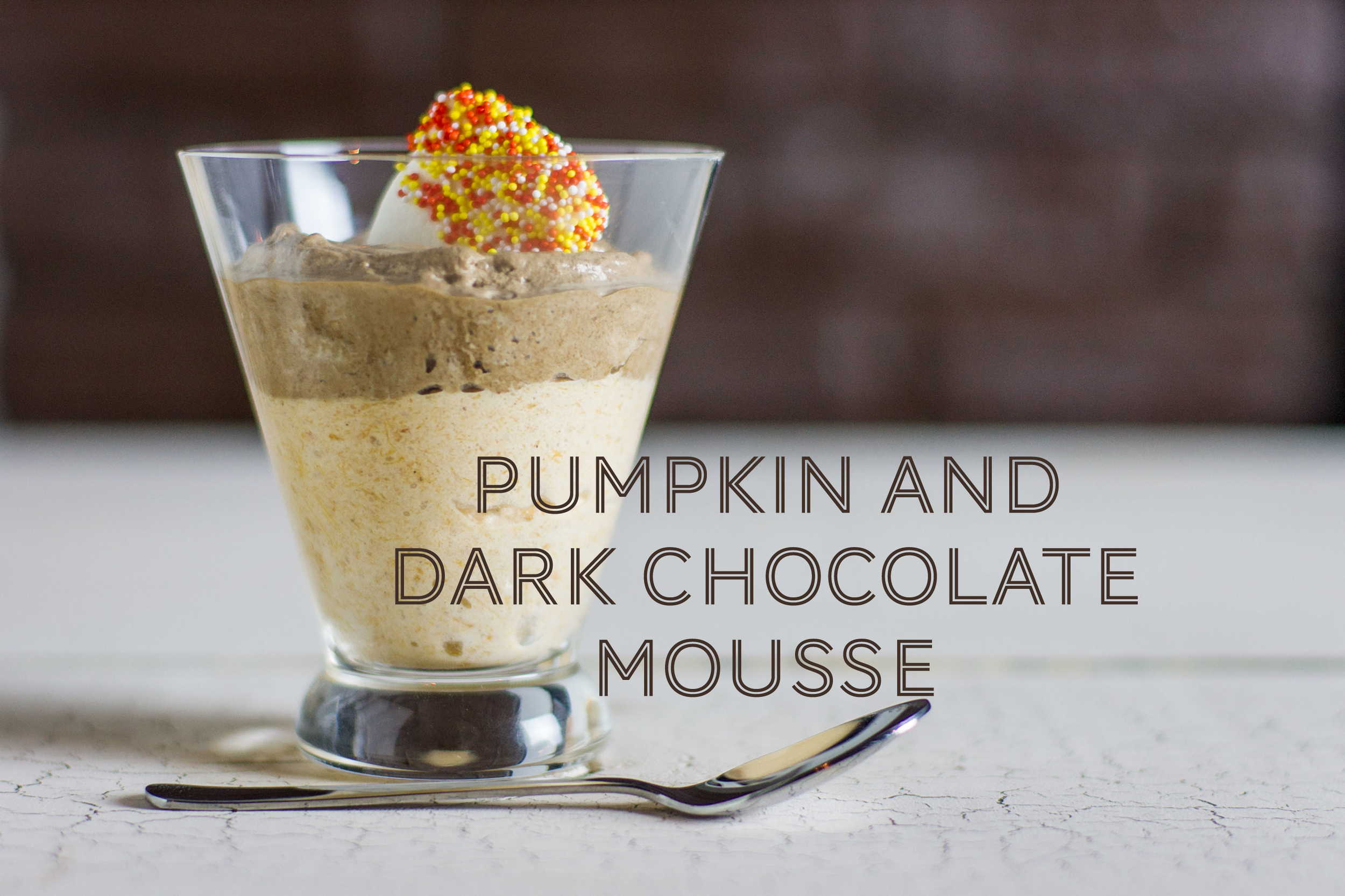 Pumpkin and Dark Chocolate Mousse by Sam Henderson of Today's Nest