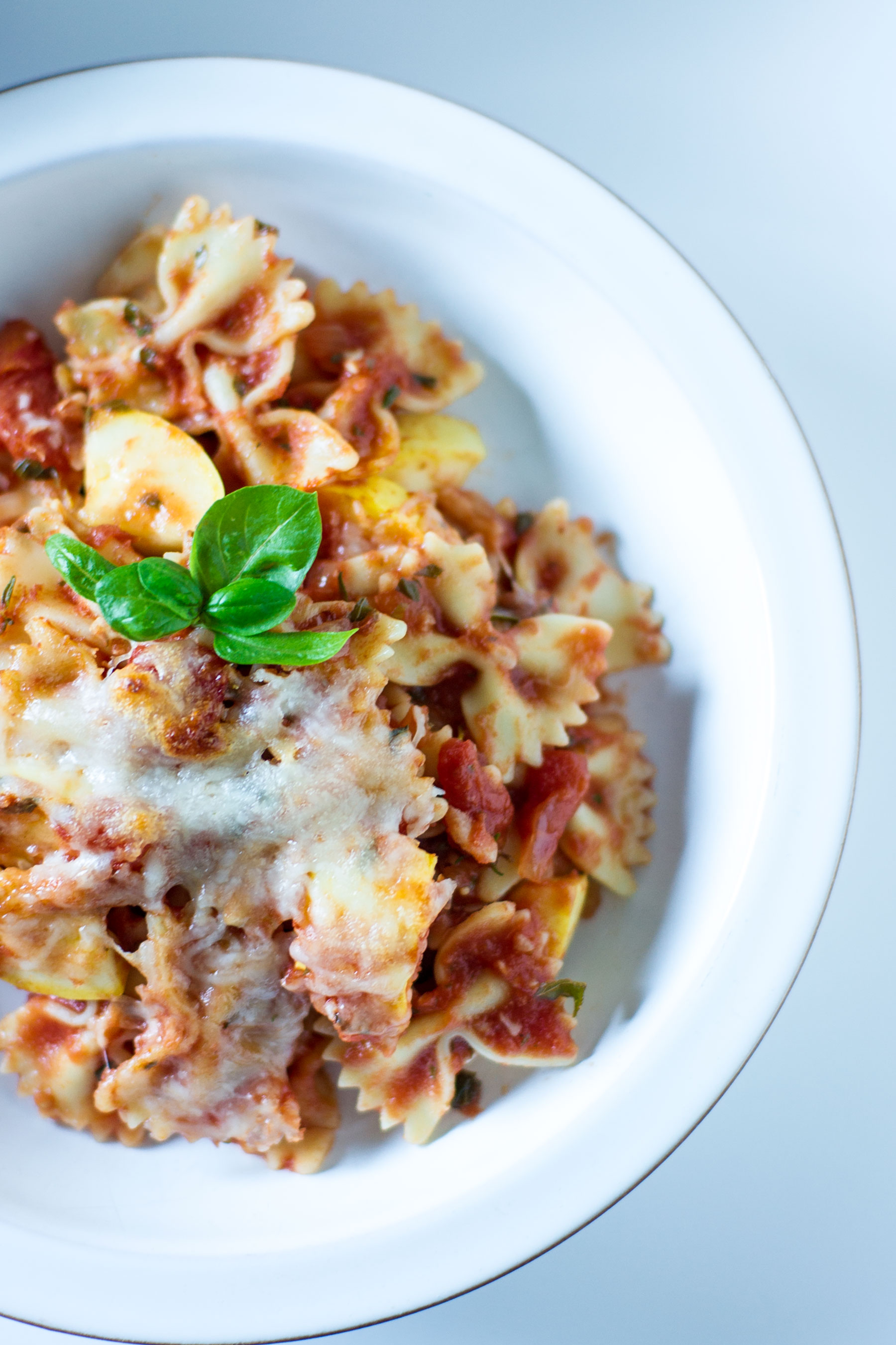 Baked Farfalle with Summer Squash by Sam Henderson of Today's Nest