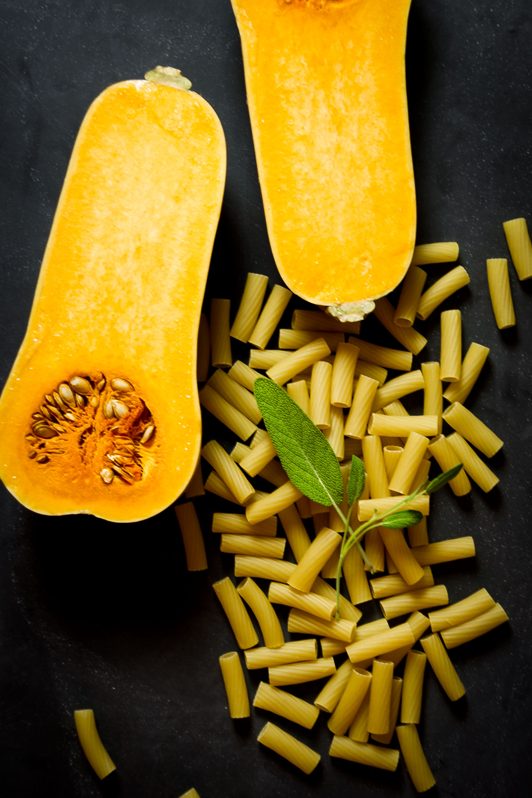 Rigatoni with Butternut Squash and Sage by Sam Henderson of Today's Nest