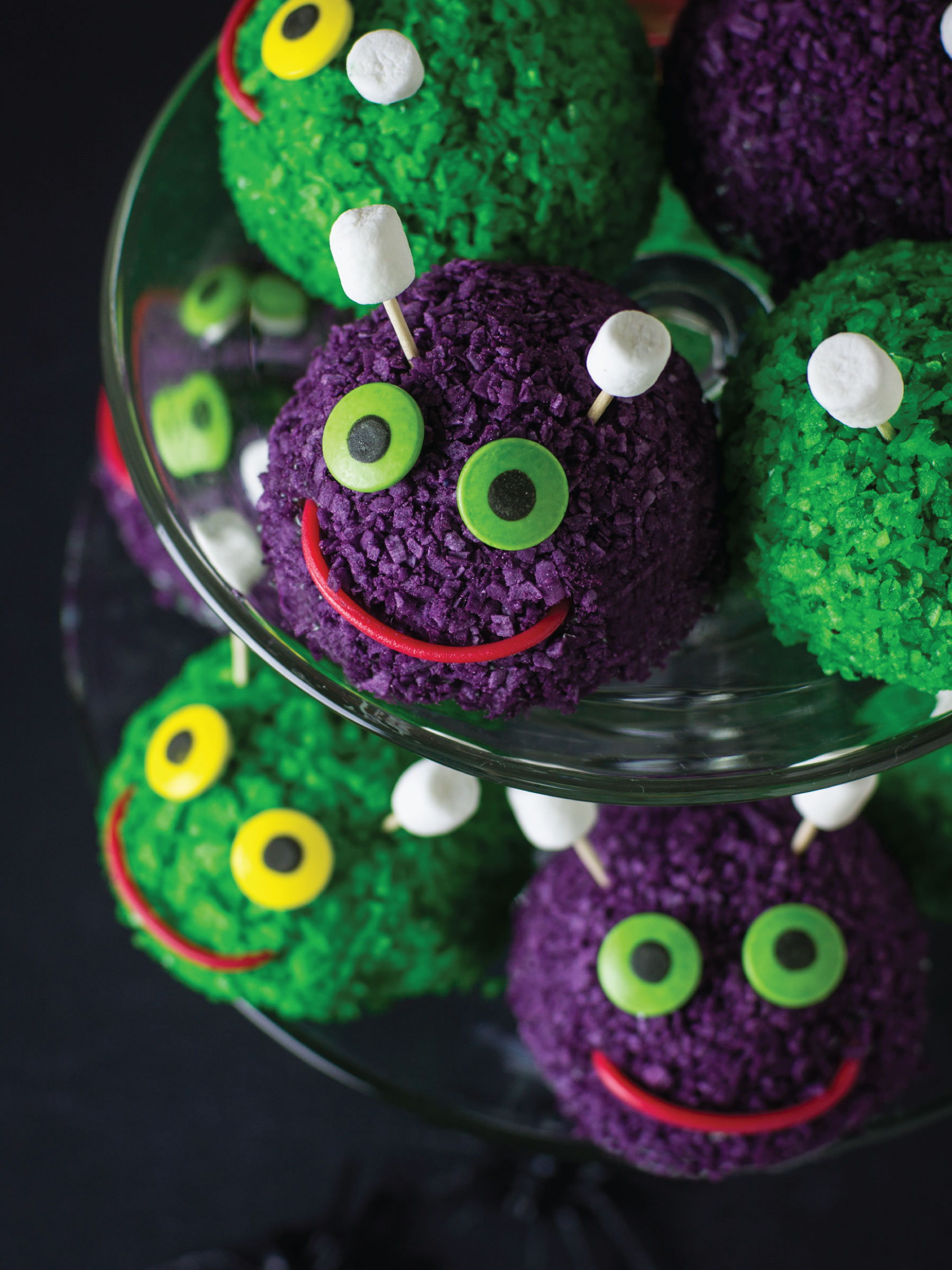 Furry SnowBall Monsters by Sam Henderson of Today's Nest for HGTV