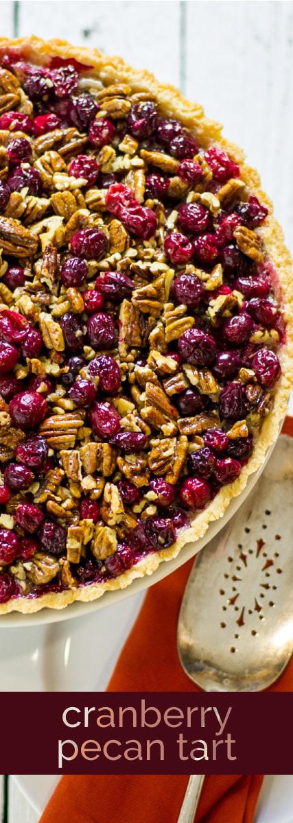 Cranberry Pecan Tart by Sam Henderson of Today's Nest for HGTVGardens.