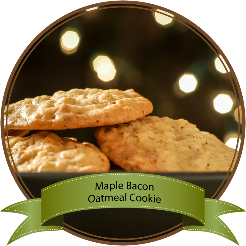 Maple Bacon Oatmeal Cookies by Sam Henderson of Today's Nest